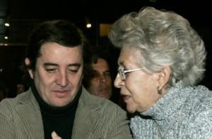 con Pilar Bardem