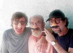 con Angel y Joaquín